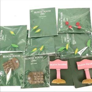 10 Packs Miniature Food Corn Apples Spice Chest